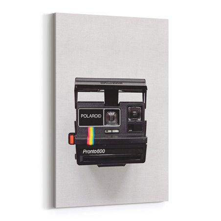 Vintage Polaroid Kanvas Tablo