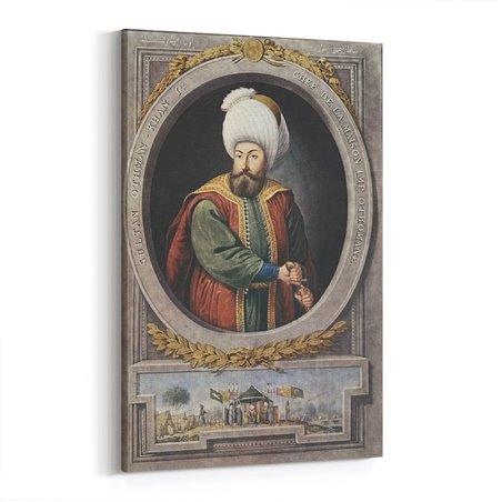 Osmanlı Kurucusu Osman Bey Kanvas Tablosu