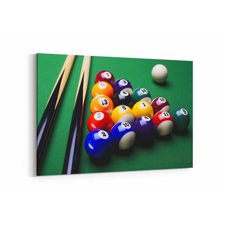 Bilardo Kanvas Tablo
