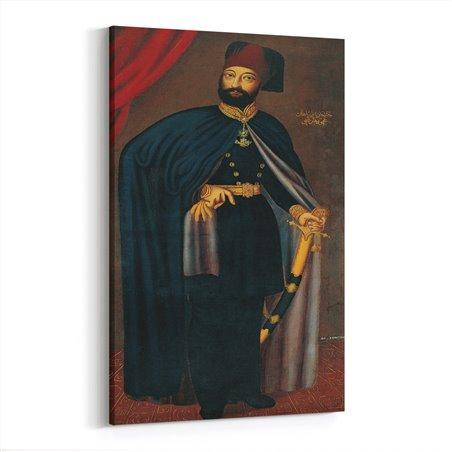 Sultan II. Mahmut Kanvas Tablosu