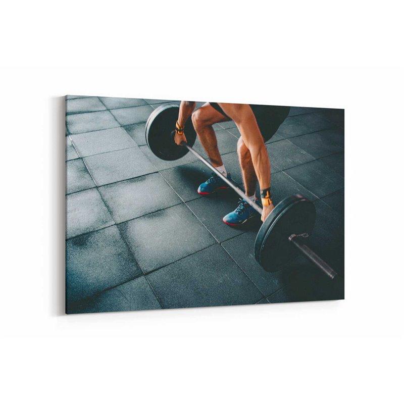 Fitness Kanvas Tablo