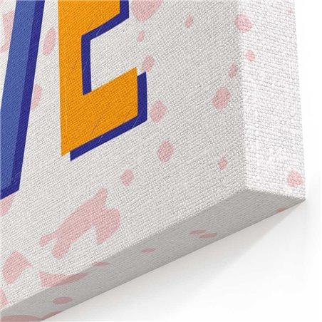 Pozitif Ol Tipografi Kanvas Tablo