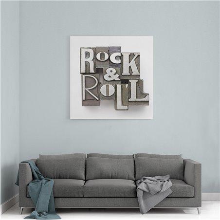 Rock&Roll Kanvas Tablo