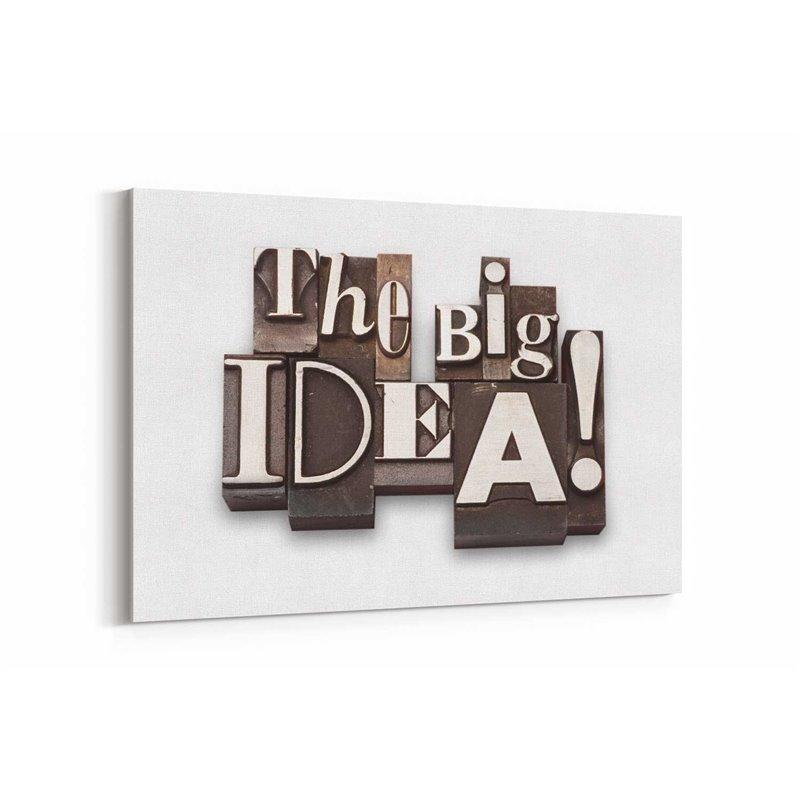 The Big Idea Kanvas Tablo