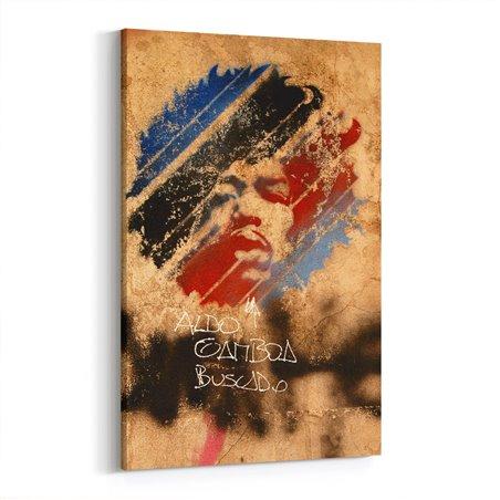 Jimi Hendrix Sprey Kanvas Tablo