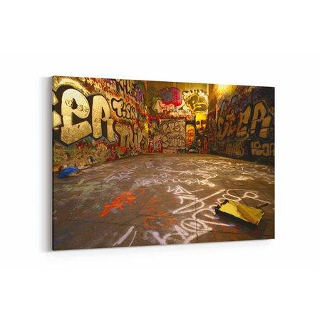 Boyalı Duvarlar Kanvas Tablo