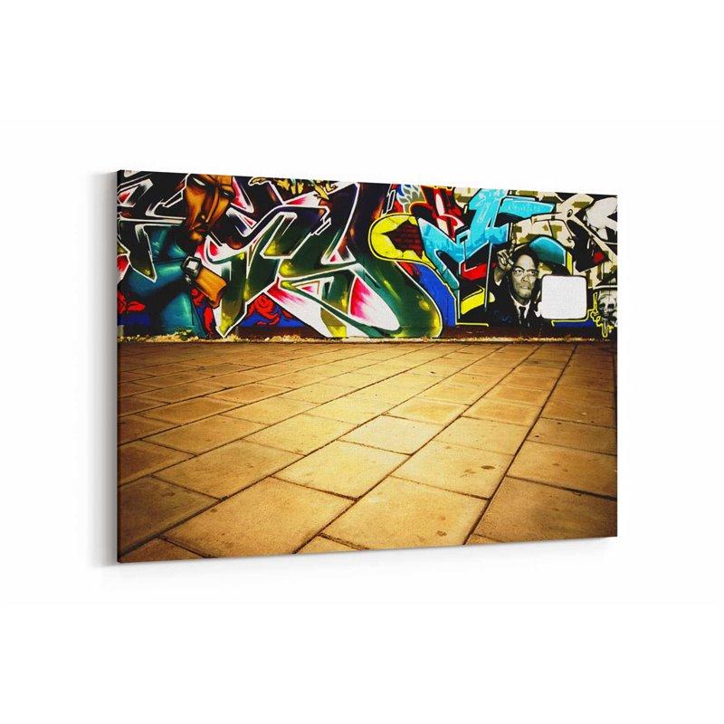 Grafiti Kanvas Tablo