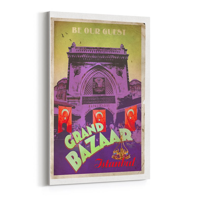 Grand Bazaar Kanvas Tablo