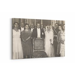 Atatürk Smokin Kanvas Tablosu