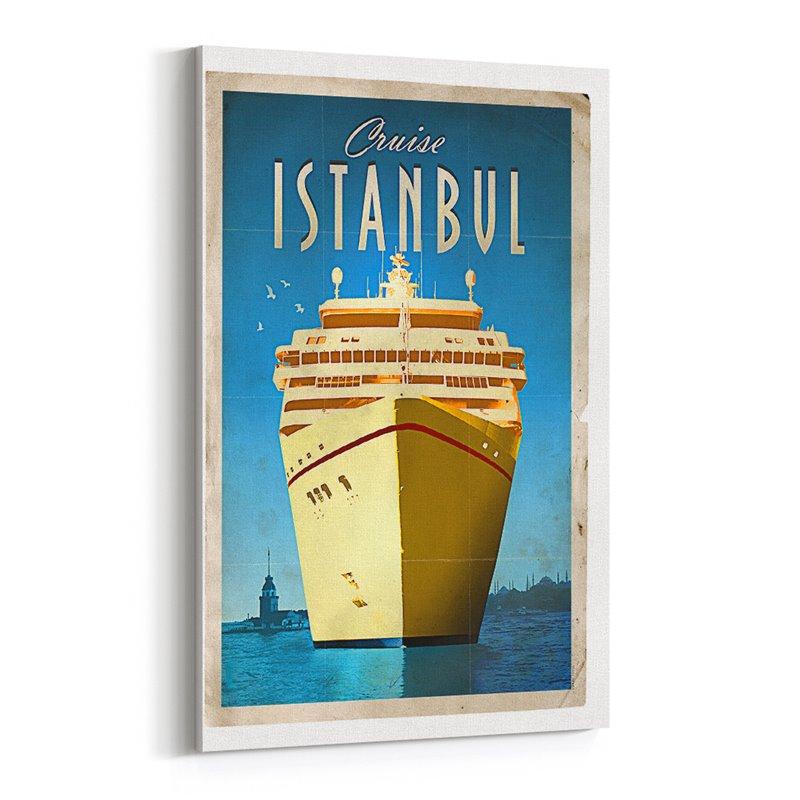 Seyir İstanbul Kanvas Tablo