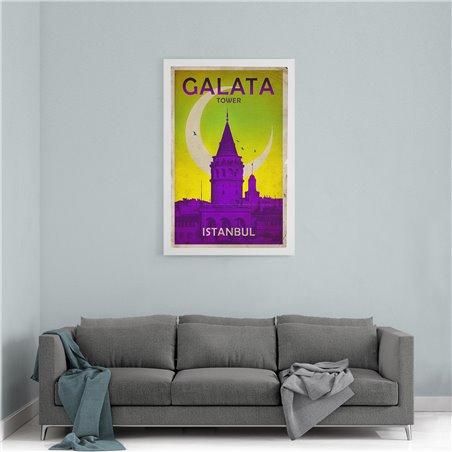 Galata Kanvas Tablo