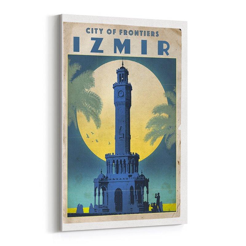 İzmir Kanvas Tablo