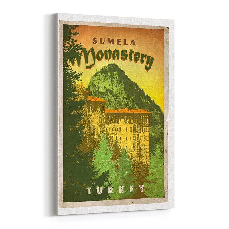 Sümela Manastırı Kanvas Tablo