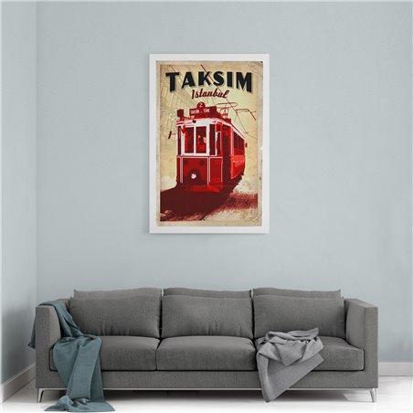Taksim Kanvas Tablo