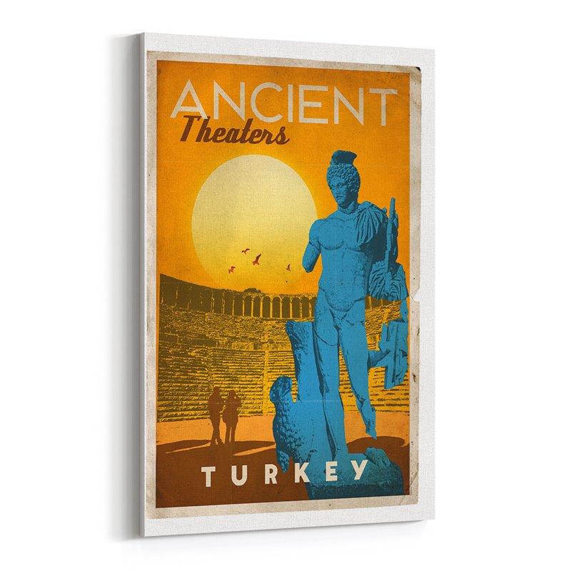 Türkye Antik Tiyatroları Kanvas Tablo