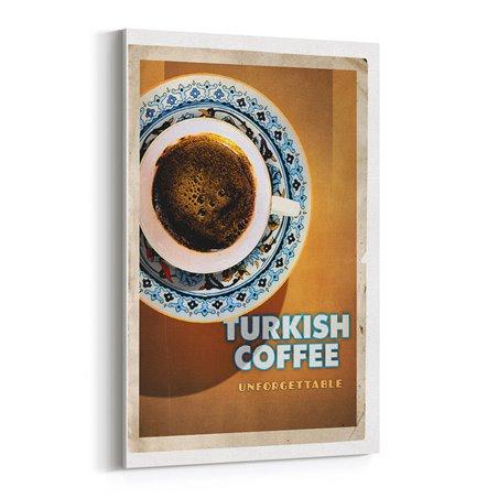 Türk Kahvesi Kanvas Tablo