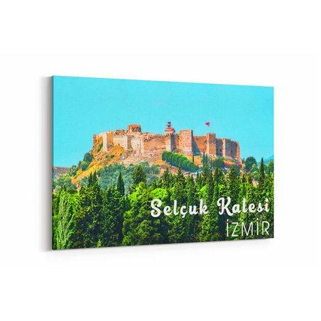 Selçuk Kalesi İzmir Kanvas Tablo