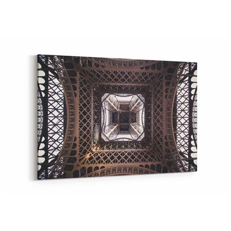 Eiffel Alttan Görünüm Kanvas Tablo