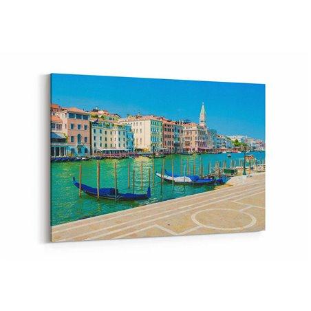 Venedik Meşhur Kanal Kanvas Tablo