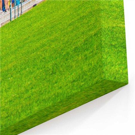 Pisa Kulesi Uzaktan Kanvas Tablo