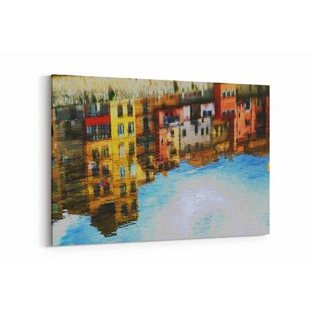 Girona İspanya Kanvas Tablo