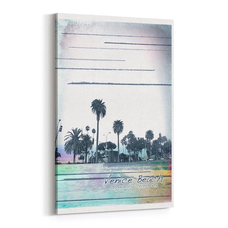 Venice Beach Los Angeles California Kanvas Tablo