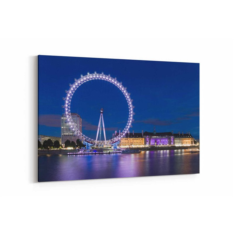 London Eye Londra İngiltere Kanvas Tablo