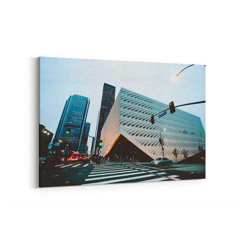 Şehir Görünümü Kanvas Tablo