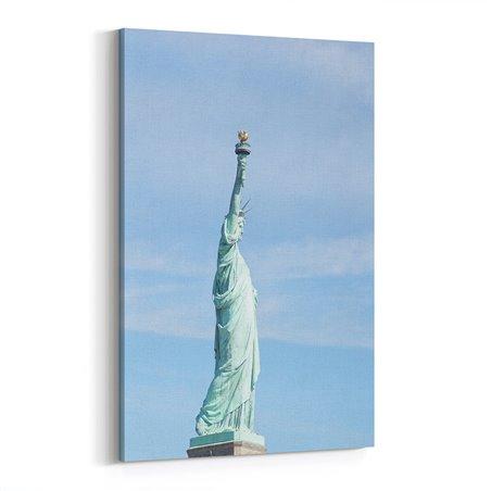 Özgürlük Heykeli Abd  Kanvas Tablo