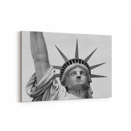 Özgürlük Heykeli Yakından Kanvas Tablo