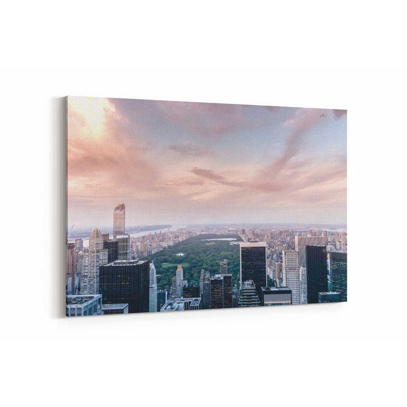 New York Central Park Kanvas Tablo