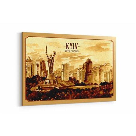 Kiev Posta Kartı Kanvas Tablo