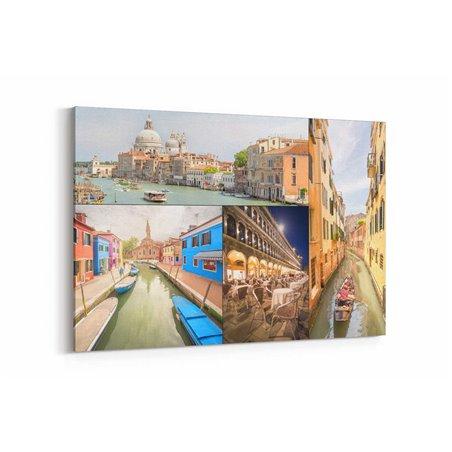 Venedik Manzaraları Kanvas Tablo