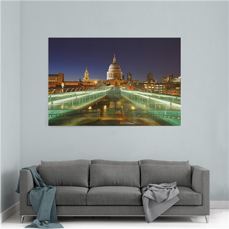 St Paul's Cathedral Londra Kanvas Tablo