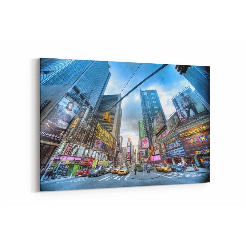 Times Square  Kanvas Tablo