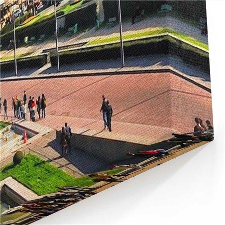 Büyüleyici Eyfel Manzarası Kanvas Tablo