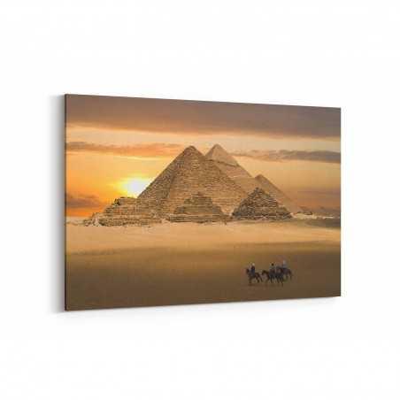 Piramitler Mısır Kanvas Tablo