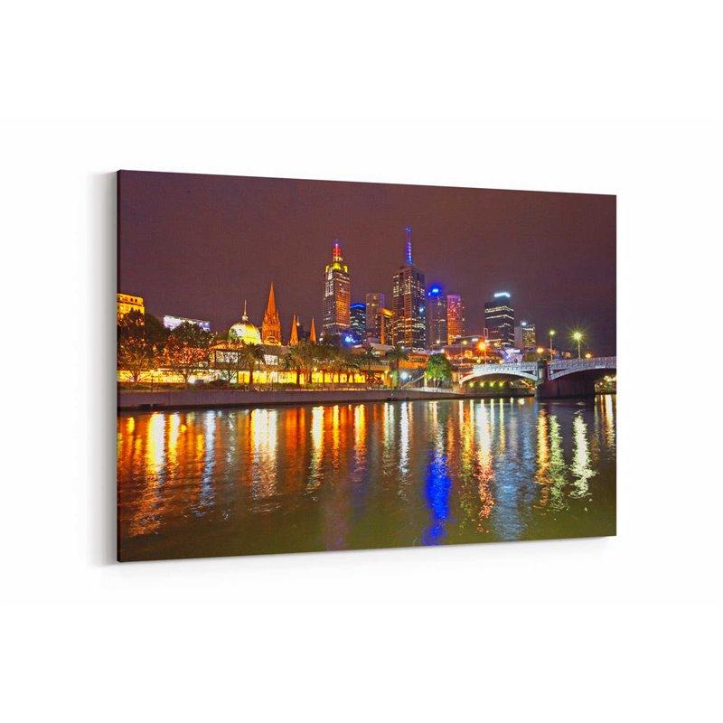 Melbourne Australia Kanvas Tablo