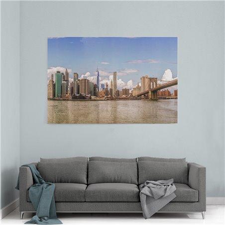 Brooklyn Köprüsü New York Kanvas Tablo