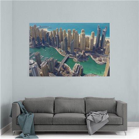Dubai Kanvas Tablo