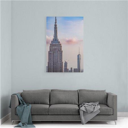 Empire State Binası New York Kanvas Tablo