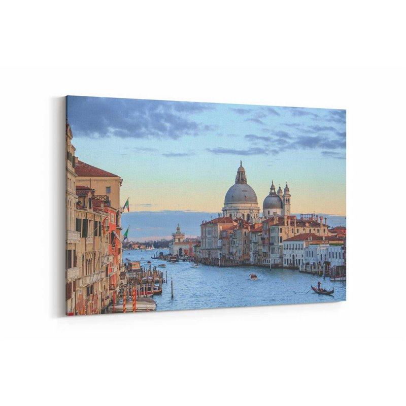 Büyük Kanal Venedik Kanvas Tablo