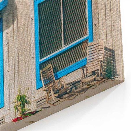 Bina Görünümü Arjantin Kanvas Tablo