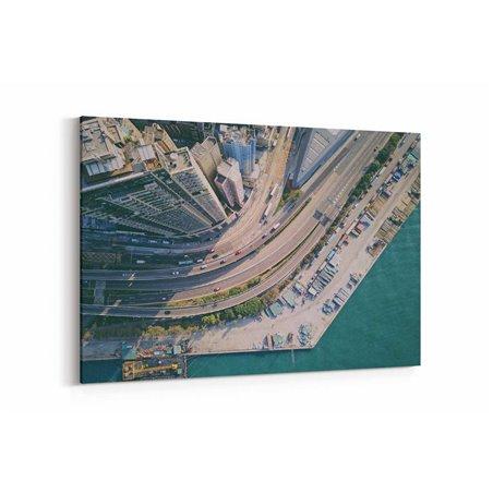 Hong Kong Otoyol Kanvas Tablo