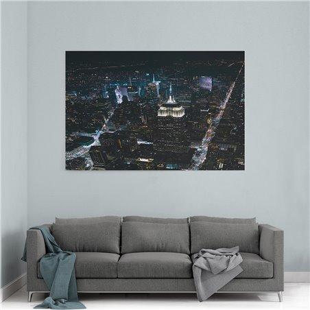 New York Işıkları Kanvas Tablo