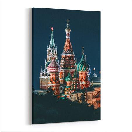 Saint Basil's Cathedral Moskova Kanvas Tablo