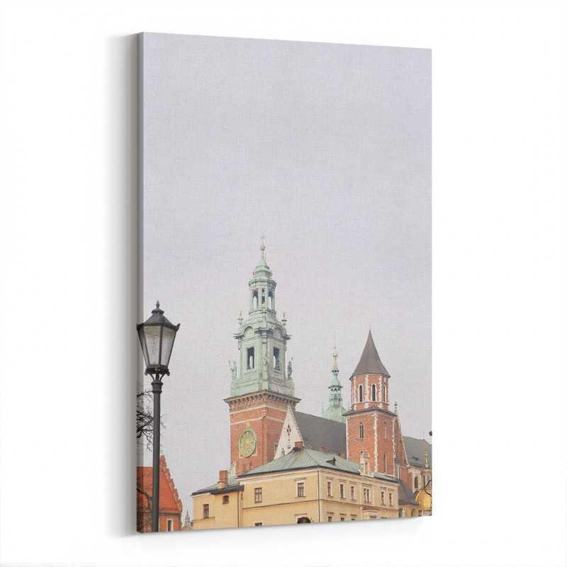 Wawel Kalesi Polonya Kanvas Tablo