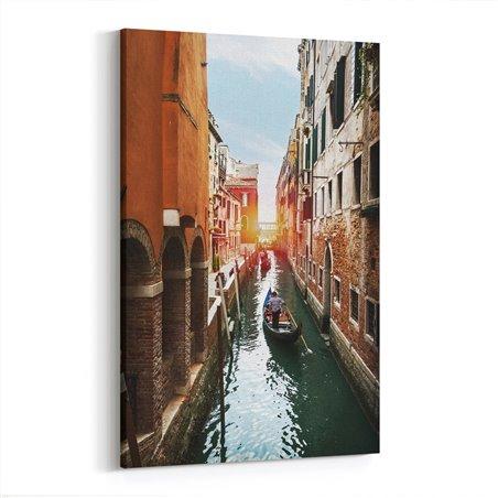 Kanal Gezintisi Venedik Kanvas Tablo
