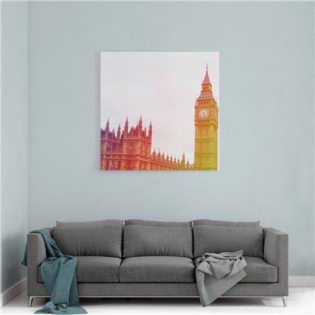Londra Bİg Ben İngiltere Kanvas Tablo