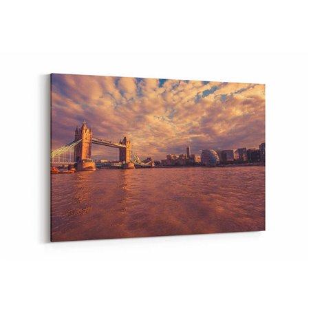 Tower Bridge İngiltere Kanvas Tablo